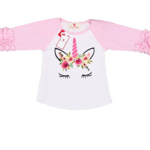 Ruffle Unicorn Fashion T-shirt