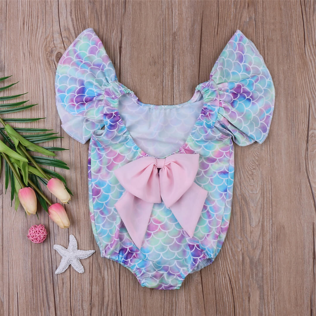 Pastel Mermaid Swimsuit