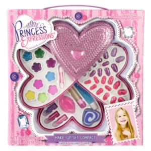 Princess Metallic Heart Makeup Kit