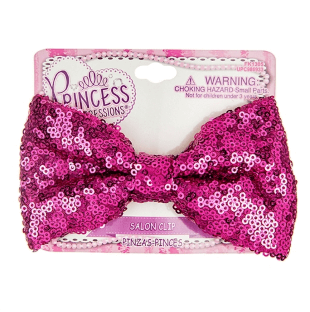 Princess Sequin Bow