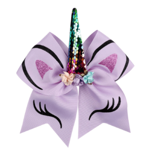 Unicorn Bow - Purple
