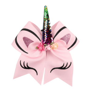 Unicorn Bow - Pink