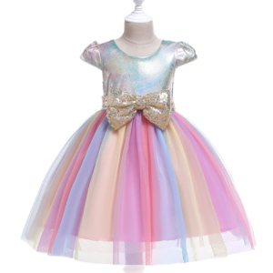 Holiday Rainbow Cheer Dress