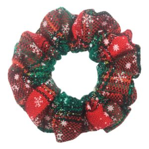 Holiday Scrunchie - Happy Holidays